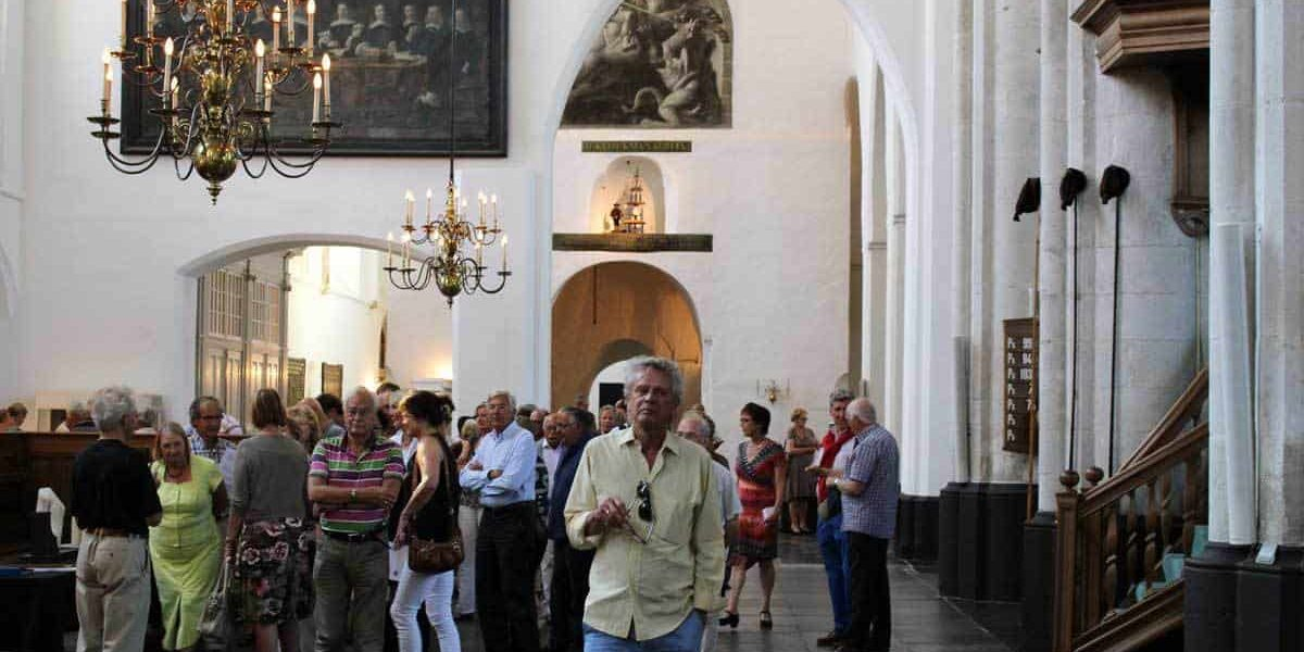 Bezoekers Sint-Joriskerk Amersfoort