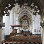 Kerk gezien vanuit de kapel Sint-Joriskerk Amersfoort